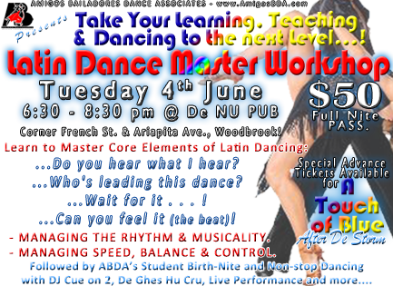 Latin Dance Master Workshop
