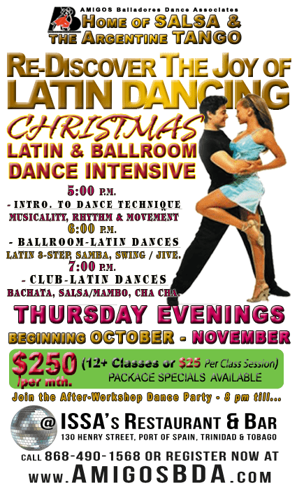SILVER BULLET Christmas Dance Workshop Series
