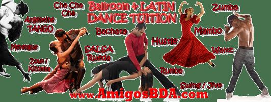 Amigos Bailadores Dance Associates (ABDA - AmigosBDA) Ballroom and Latin Dance Classes in Trinidad, Tobago and the Caribbean.
