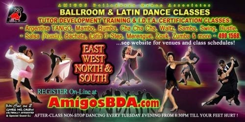 Ballroom and Latin Dance Classes in Trinidad and Tobago
