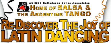 Welcome to Amigos Bailadores Dance Associates Trinidad and Tobago and the Caribbean SILVER BULLET Ballroom & Latin Dance Classes - FEEL the PASSION