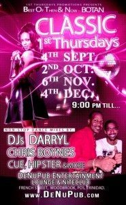 "The ""Best of THEN & NOW"" 1st Thursdays All-Dance Party @ DE NU PUB - The Home of Caribbean Music, Culture & Dance. | Port of Spain | Port of Spain | Trinidad and Tobago"